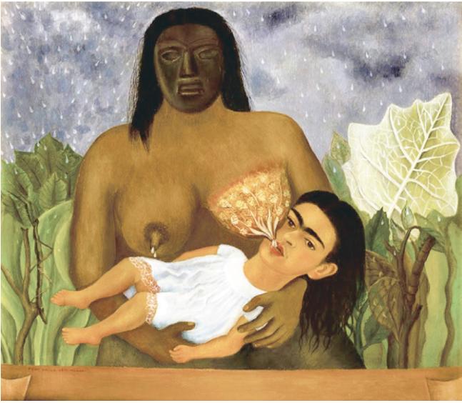 Ф. Кало. Моя кормилица и я