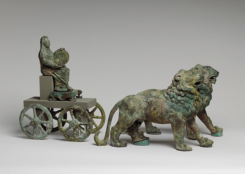 Bronze_statuette_of_Cybele_on_a_cart_drawn_by_lions