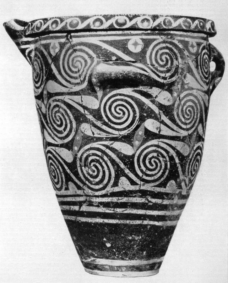 Пифос стиля Камарес из Старого дворца в Фесте