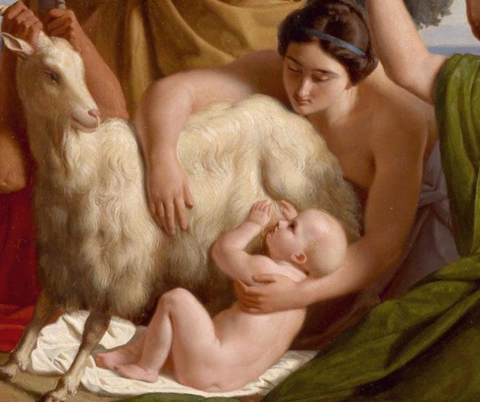 Бернини коза Амалфея