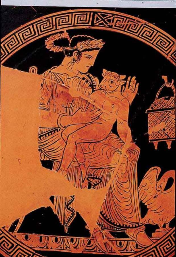 Пасифая с Минотавром