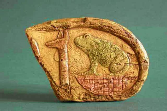 Анубис и Хекет. Египет
