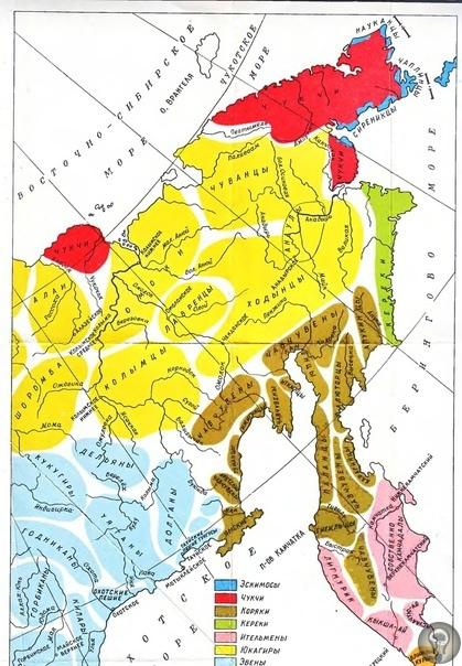 карта расселения кереков