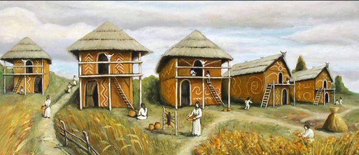 Поселение Трипольской культуры 2
