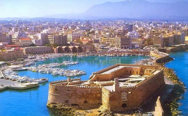 Venetian castle of Koules at Heraklion, Crete
