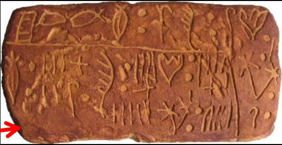 Minoan Linear A script