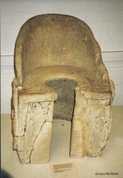 Minoan toilet