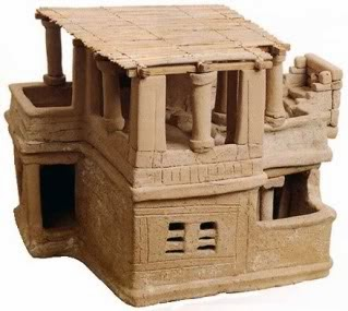 clay Minoan house was found in Archanes, just south of Knossos