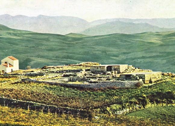 the Minoan villa at Vathypetro