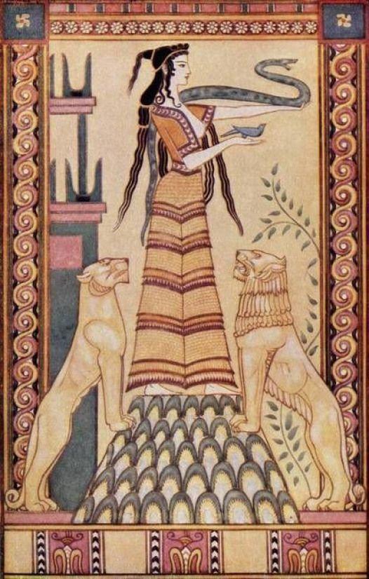 минойская богиня