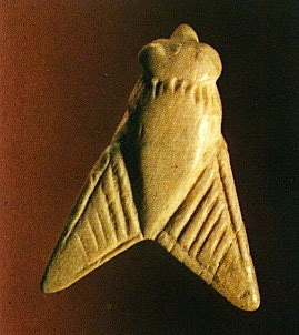 a seal in the shape of a fly, Minoan, from Arkhanes