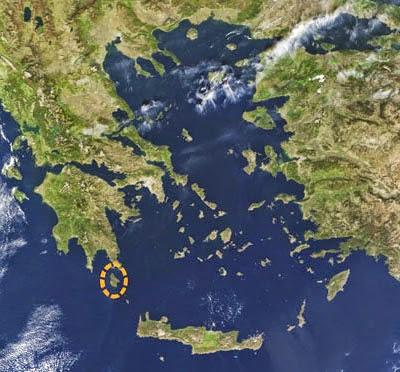 Kastri, in the Aegean
