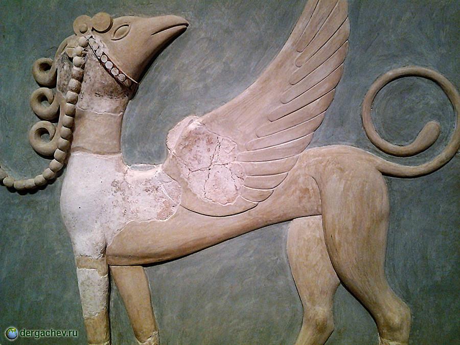 Грифон. Кносский дворец, Крит. (1700 — 1300 гг. до н.э.)