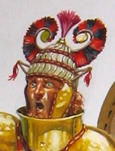 side placement of helmet horns