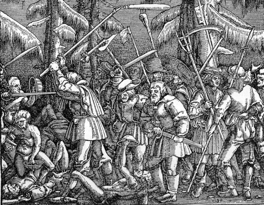 Крестьянская война в Германии.