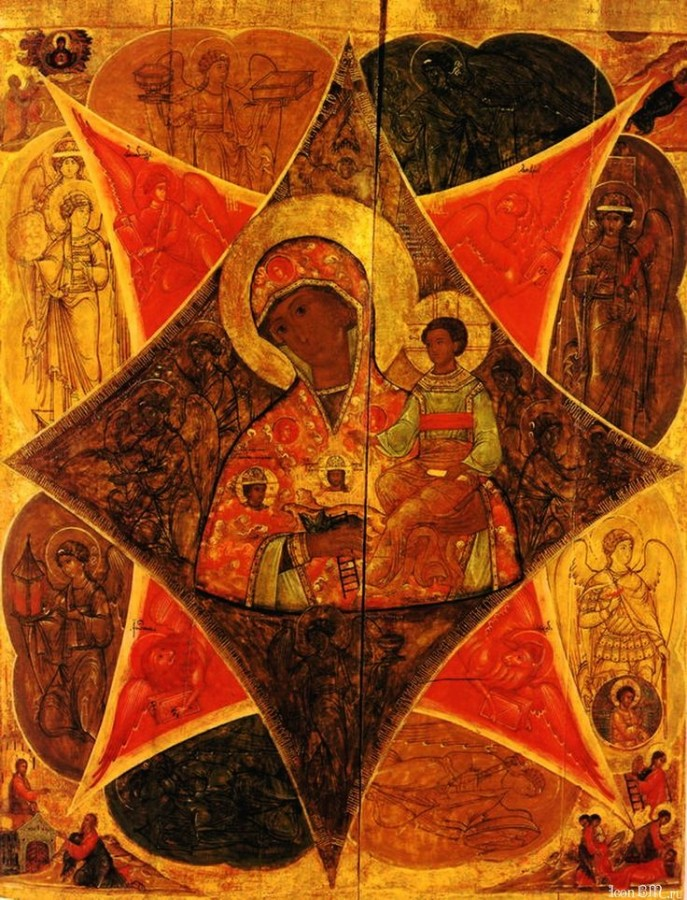 Икона Богородицы Неопалимая Купина