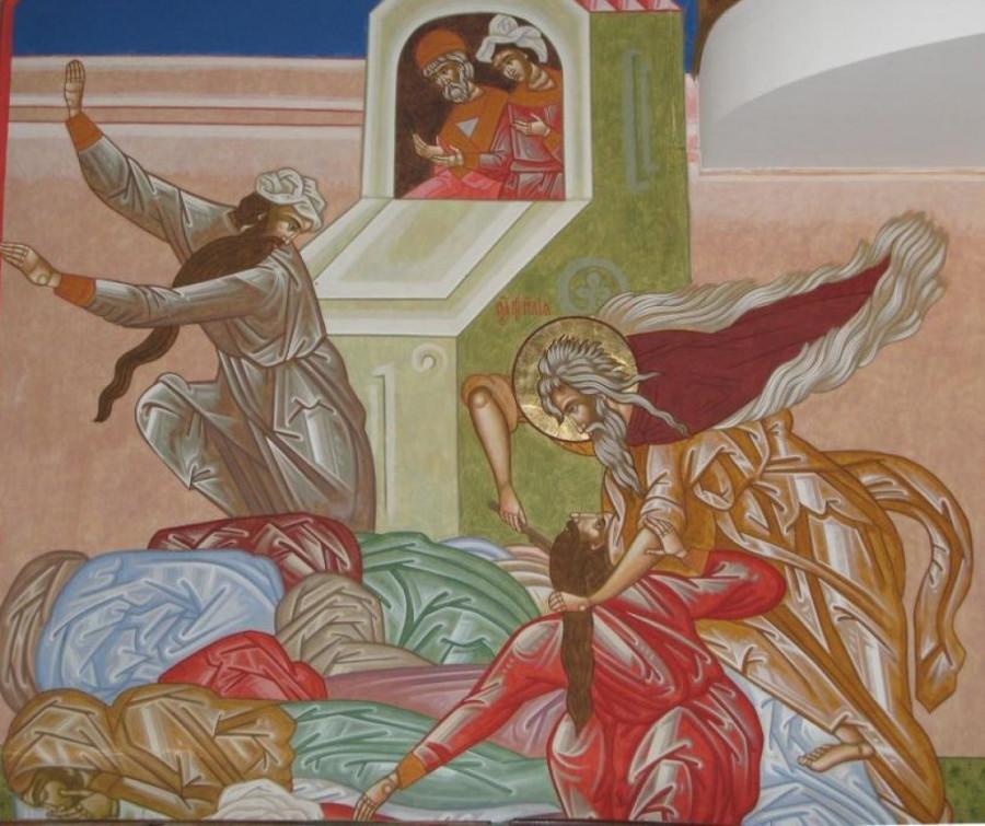 Заклание Пророком Илией жрецов Вааловых