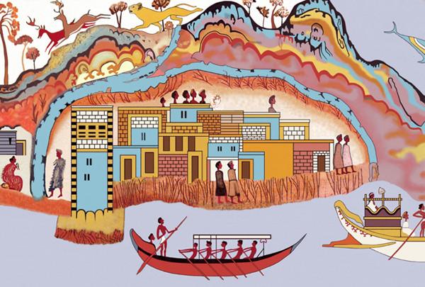 корабли-фреска-Minoan-флотилия-Admirals_Flotilla_Fresco_Minoan