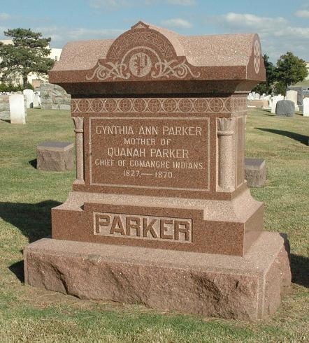 Cynthia_Ann_Parker_Gravestone