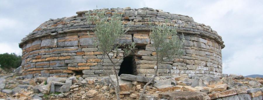 Тумулус лелегов из некрополя города Педаса.