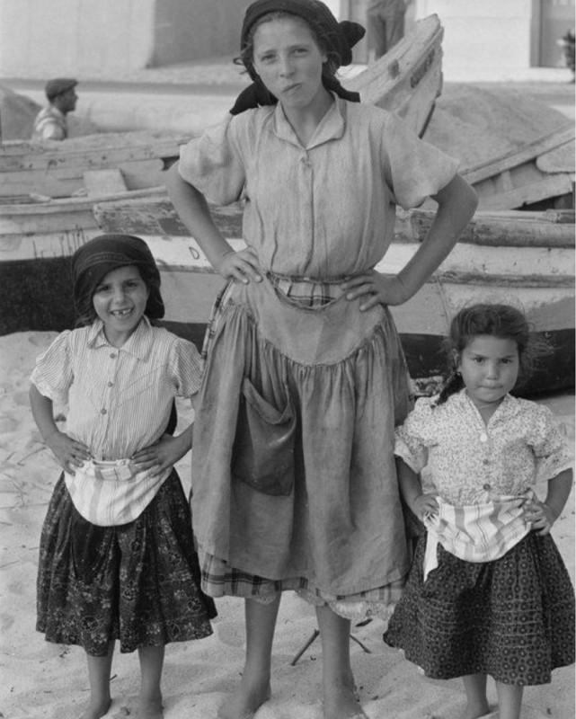 Назаре, Португалия, 1958 год.