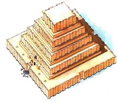 Шумеро-аккадский зиккурат