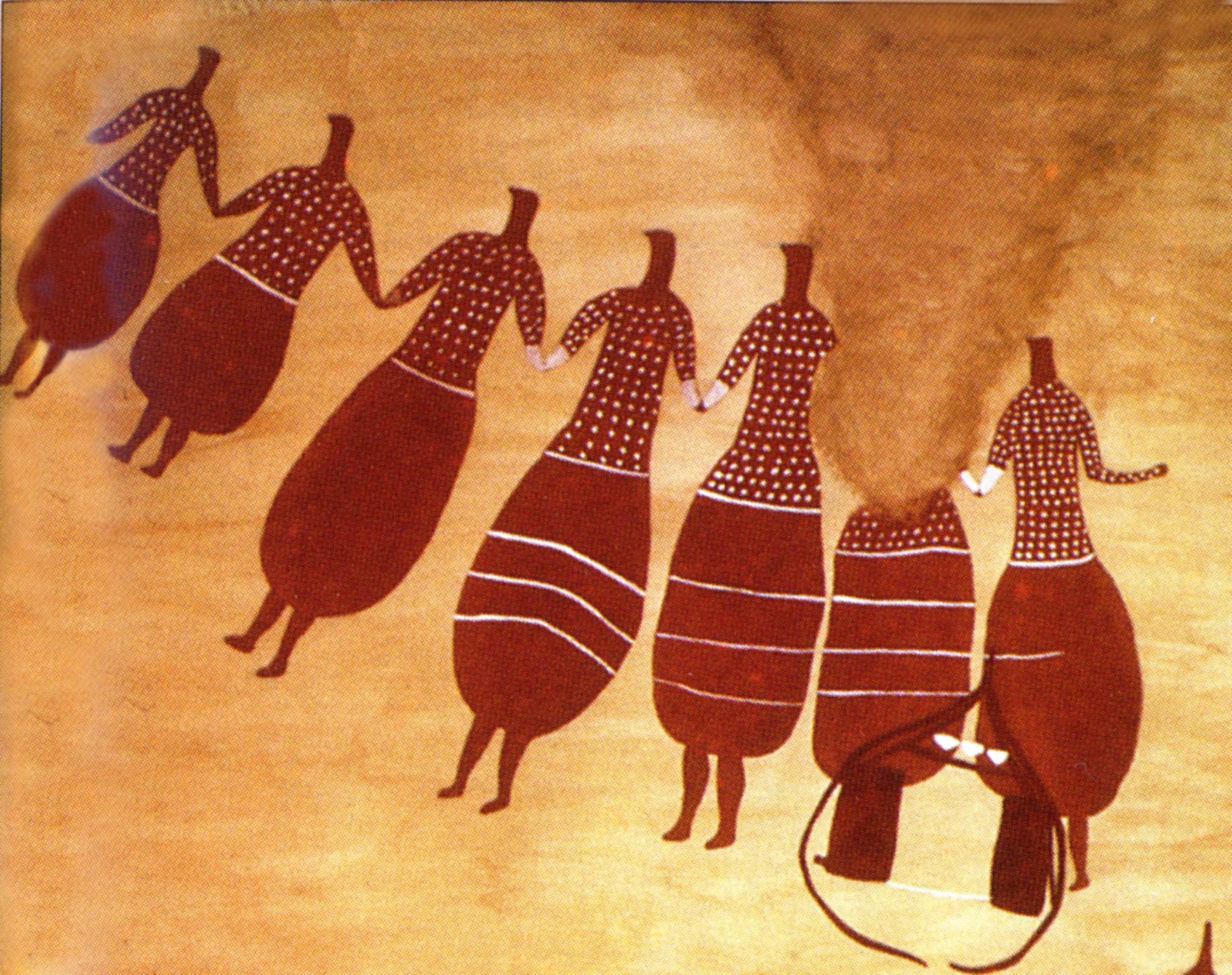Танцы птицеголовых женщин