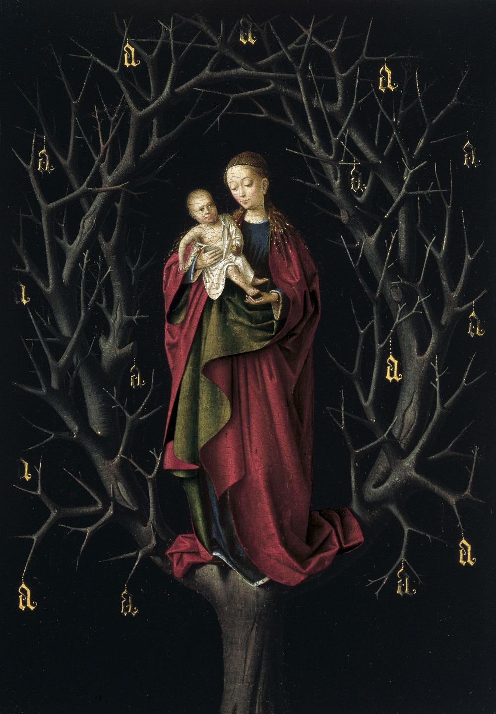 Christus, Petrus - Богоматерь сухого древа, ок. 1465