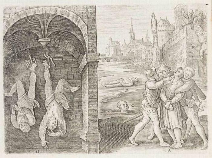 средневековые пытки