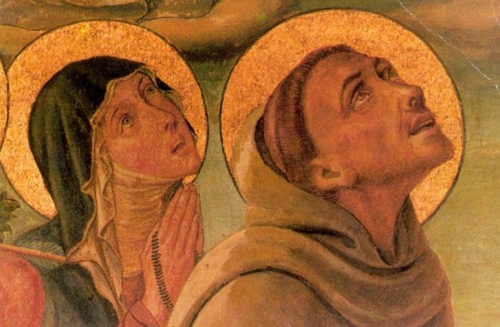 Франциск и Клара
