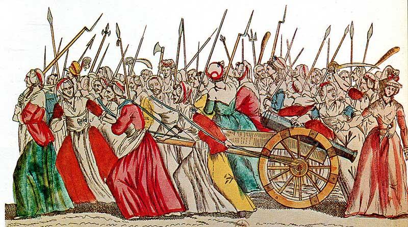 Поход на Версаль 5-6 октября 1789