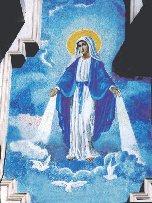Икона Божией Матери в честь Её явления в Зейтуне
