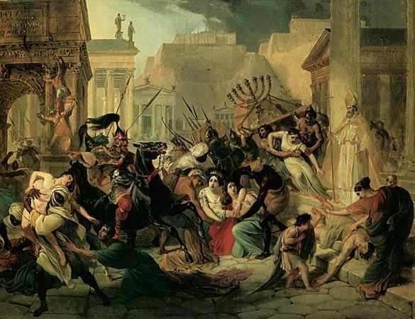 Вандалы в Риме
