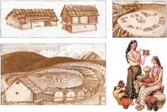 Типы поселений и жилищ трипольцев