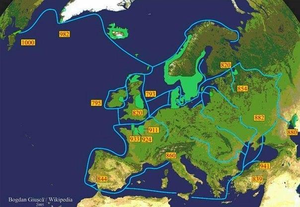Экспансия викингов