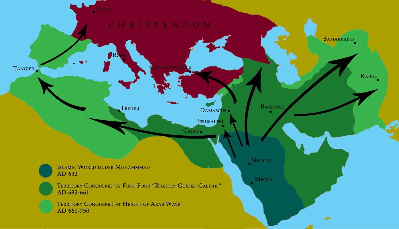 Арабская экспансия