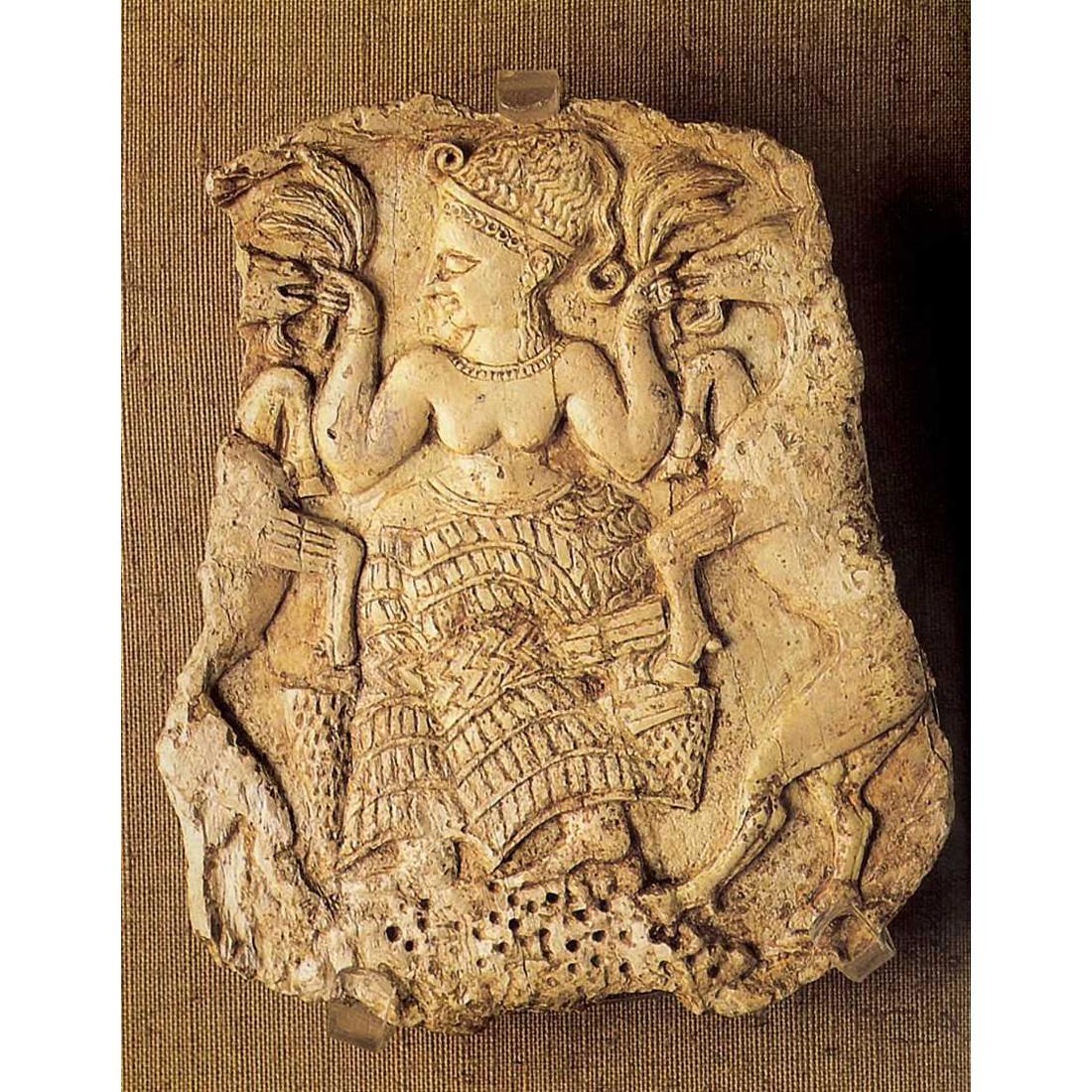 Богиня плодородия, кормящая козлов. XIV в. до н. э.