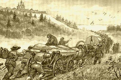 немецкие колонисты едут в Россию