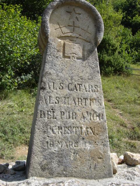 Памятник катарам