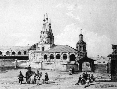 Ивановский монастырь в XIX в.
