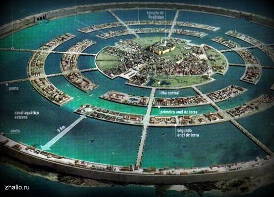 Столица Атлантиды