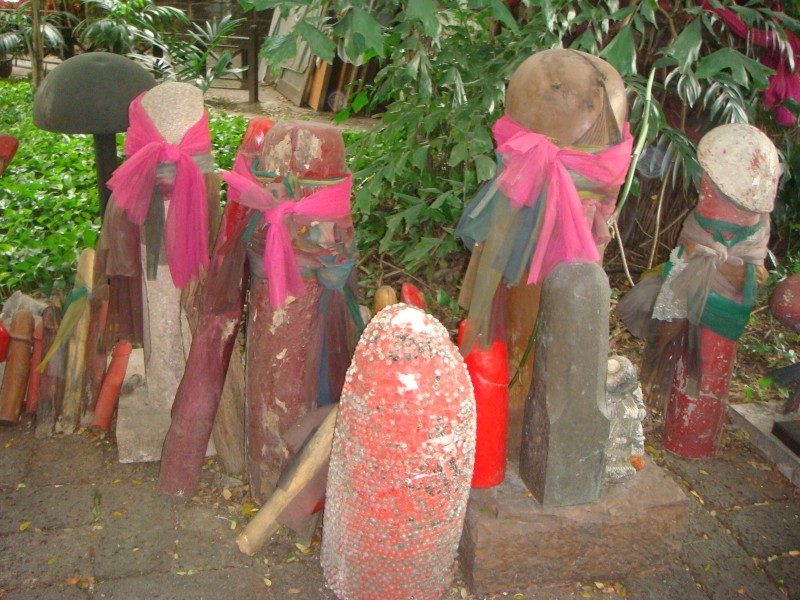храм богини Тубтим в столице Тайланда