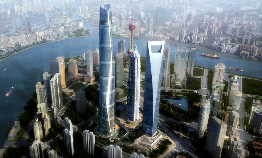 Центр Шанхая