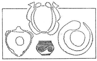 Курган в виде яйца и змеи