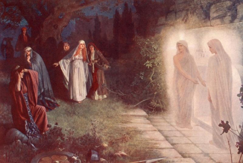 Ангелы традиционного изображения