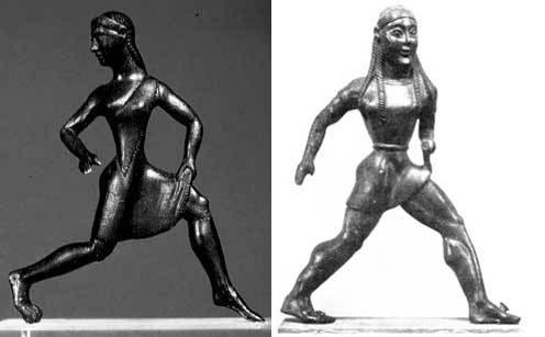 Спартанские бегуньи