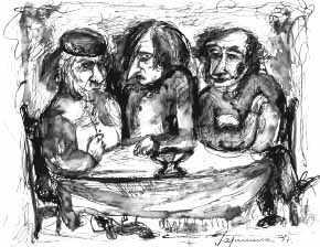 Ирина Гаршина. Толстой, Гоголь и Пушкин.