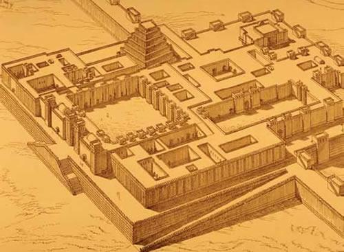 Шумерский храм