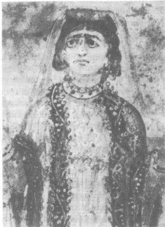 Женщина-христианка их катакомб