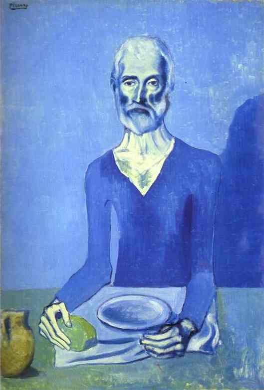 Пабло Пикассо. Аскет. 1903.